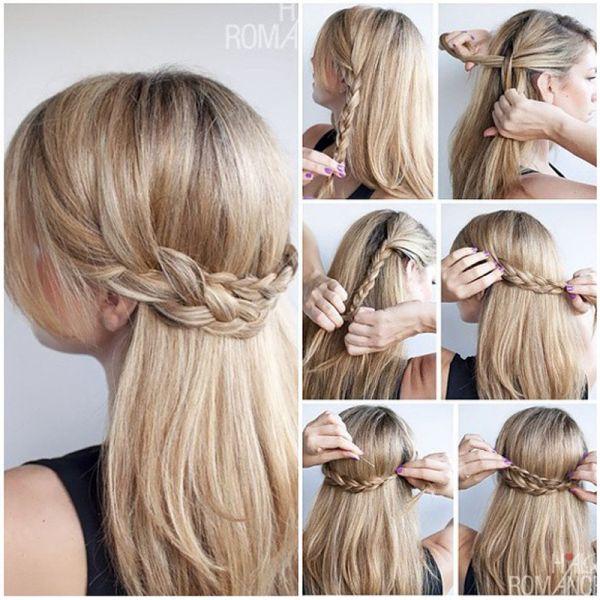 Простые причёски на каждый день своими руками на длинные волосы фото