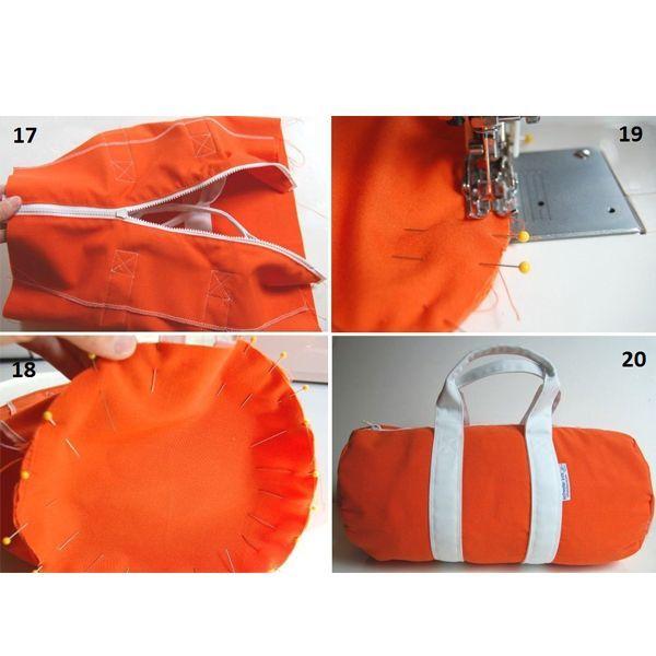 Ручки и крепления можно выполнять самостоятельно из основного или вспомогательного материала. Можно приобрести специальные кольца, цепочки, зажимы, заклепки, кнопки.