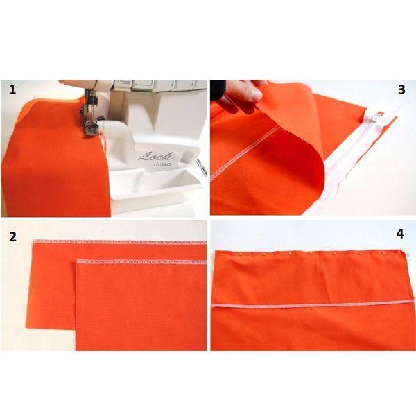 Нитки для пошива сумки лучше брать более прочные, то есть шелковые, нейлоновые или капроновые, хотя можно использовать и обычную нить.