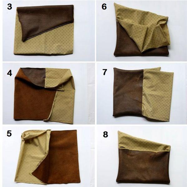 Сумки лучше шить из жесткой кожи, а если для пошива сумки используется кожа мягкой выделки, то обязательно необходимо использовать дублирующие прокладки из плотного материала.