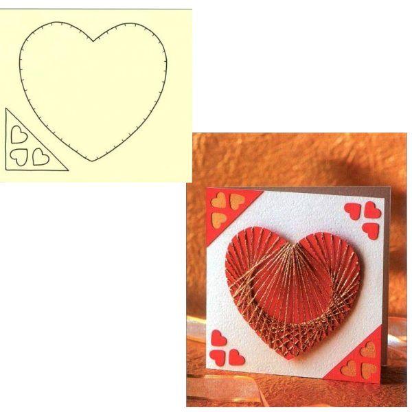 Предлагаю вашему вниманию интересную и простую валентинку, сделанную своими руками, из самых, так сказать, простых составляющих. Выходит оригинально, а главное романтично.