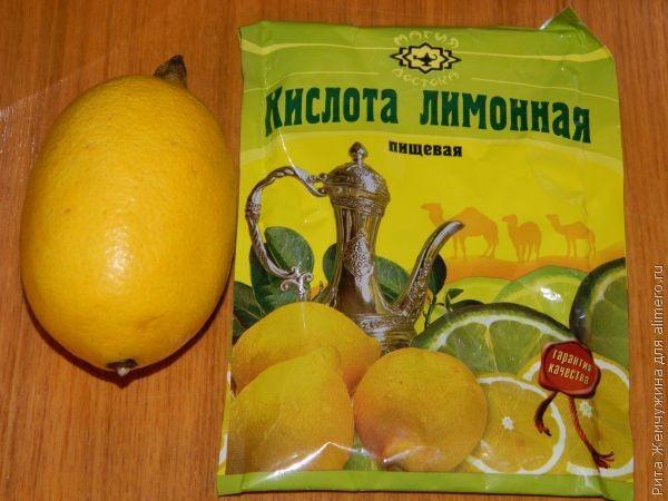5 моих способов применения лимонной кислоты в хозяйстве