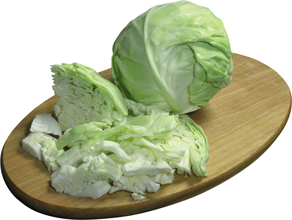 Обычная белокочанная капуста и цветная (другие виды тоже), все имеют калорийность до 20 ккал.