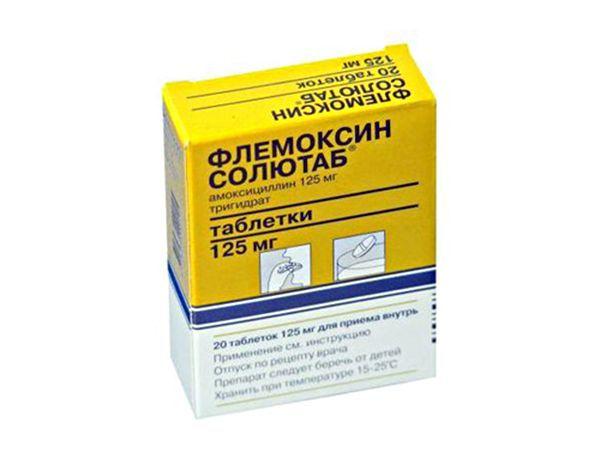 12. Флемоксин. Универсальный антибиотик широкого спектра действия. С большей вероятностью помогает при инфекции органов дыхания, мочеполовой системы, органов ЖКТ, инфекции кожи и мягких тканей.