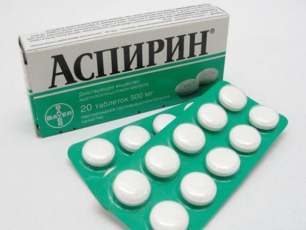 5. Ацетилсалициловая кислота. Проще говоря, Аспирин. Принимают для снижения повышенной температуры, снятия головной боли. Рекомендуется принимать при жаре, начале простуды, головных болях, густой крови и для профилактики при переохлаждении.