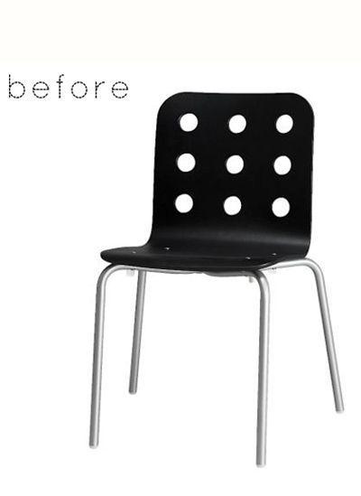 14 идей реставрации старых стульев. Фото до и после