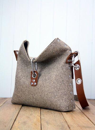 Валяние из шерсти - идеи сумок