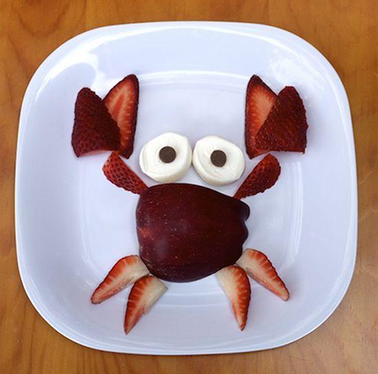 Оформление блюд для детей - идеи