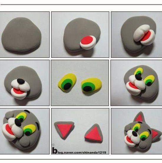 Зверушки из полимерной глины. Мастер-класс №10