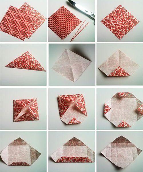 Подарочная упаковка из бумаги. Мастер-класс №6