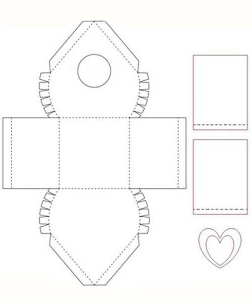 Подарочная упаковка из бумаги. Мастер-класс №7