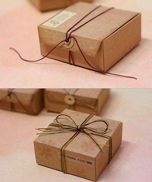 Подарочная упаковка из бумаги. Мастер-класс №8