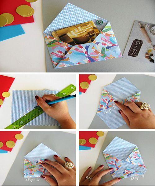 Подарочная упаковка из бумаги. Мастер-класс №15
