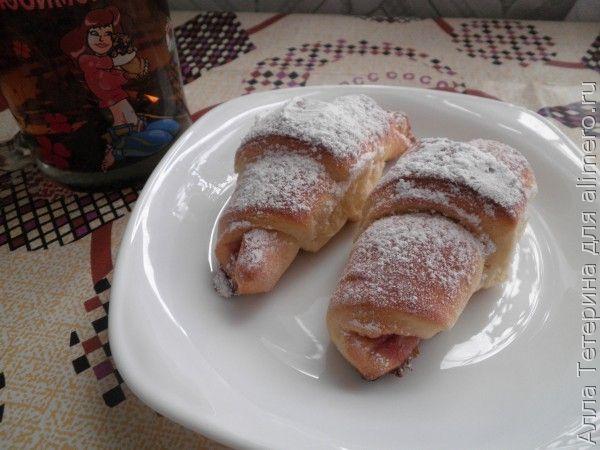 Домашние булочки с начинкой