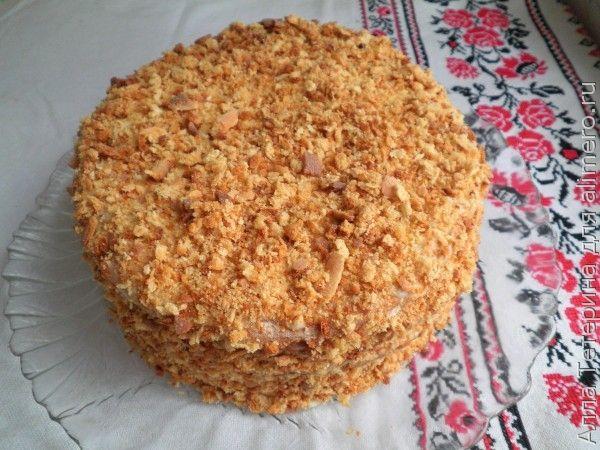 Медовый торт Кутузов