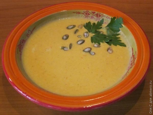 суп из тыквы с курицей рецепты приготовления с фото