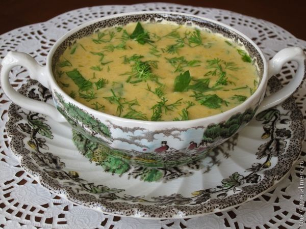 гороховый суп в горшочках рецепт