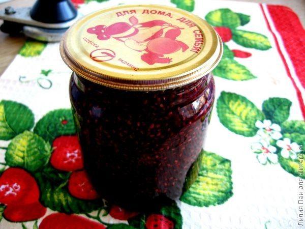 Конфитюр из малины без косточек на зиму рецепты