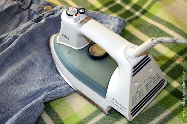 Нужно ли гладить джинсы?