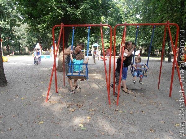 Проблемы нашего летного городского отдыха с детьми