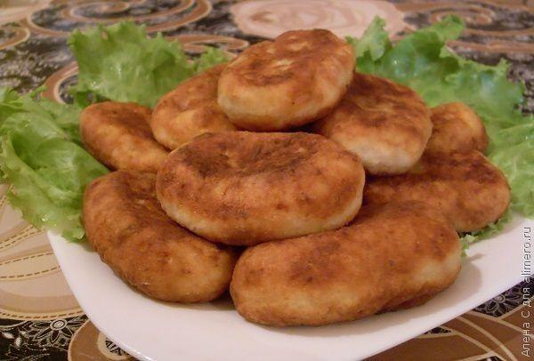 Картофельники с печенью