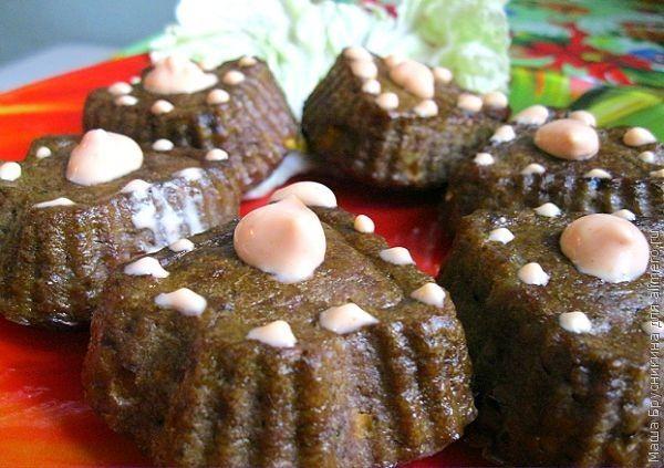 Кексы из печени