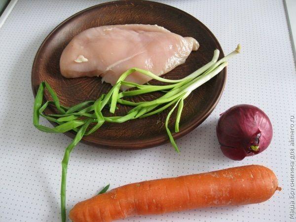 Куриные капкейки