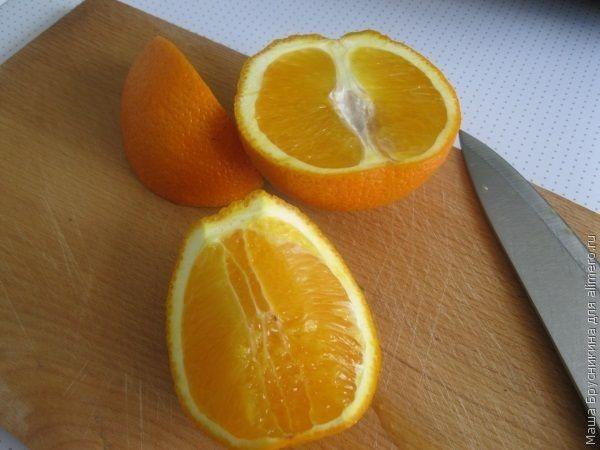Филе с апельсинами