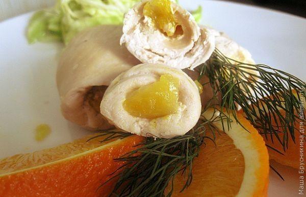 Филе с апельсинами рецепт