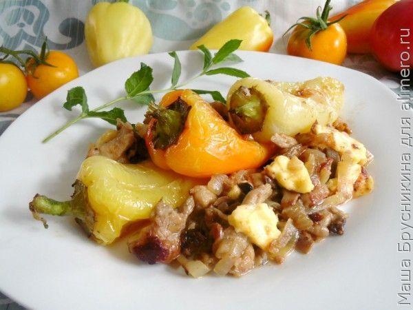 Перец болгарский жареный рецепт