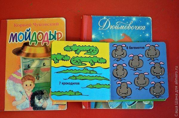 Приобщая ребенка к миру книг...
