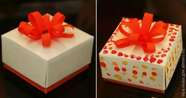 Подарочная коробочка своими руками: быстро, просто и эксклюзивно