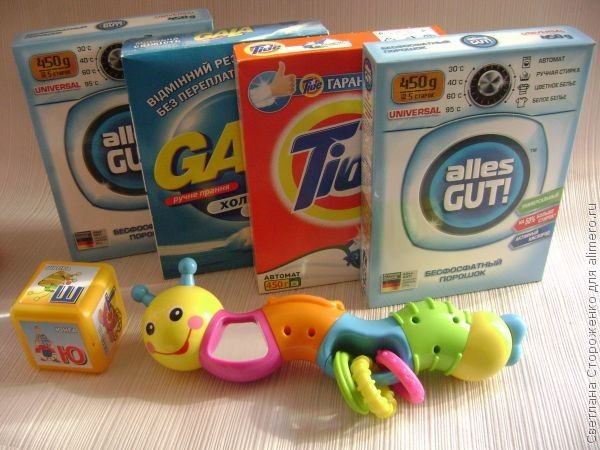 Как выбрать детский стиральный порошок?