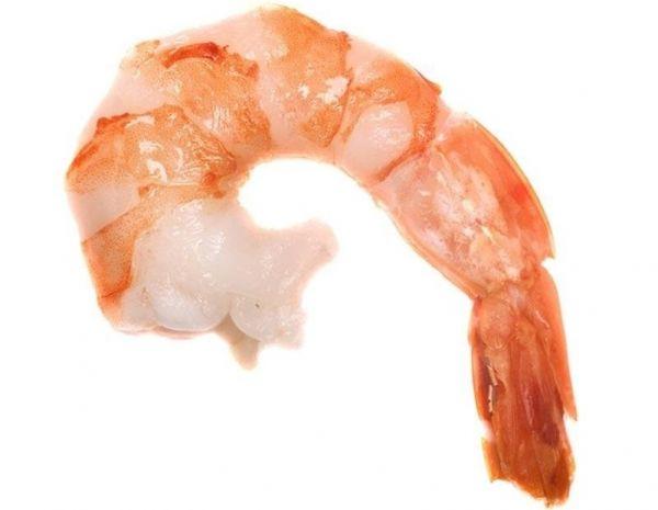 21. Креветки – 110 грамм.  Этот перекус подойдет любителям морепродуктов. Креветки считаются отличным источником белка и небольшого количество полезных полиненасыщенных жирных кислот.