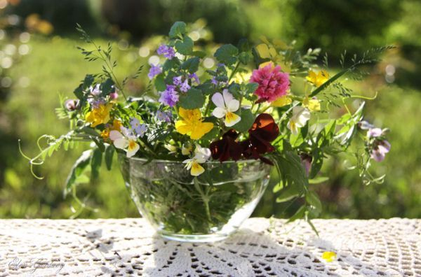 Сахар может сохранить свежесть цветов. Просто добавьте в воду 3 столовые ложки сахара и 2 уксуса. Сахар полезен для стеблей, а уксус остановит размножение бактерий.
