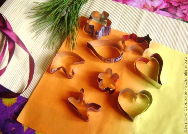 формочки для печенья из жестяных банок