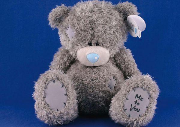 8. Мишка – зайка. Рассадите в разных сторонах комнаты большого игрушечного зайку и мишку. Встаньте с малышом посреди комнаты и скажите: «Бежим к мишке». Когда малыш дотронется до мишке, скажите: «Бежим к зайке». В дальнейшем можно будет усложнять задачу: бегать к большому медведю или маленькому мышонку; большому или маленькому зайке; иди добавить еще 1-2 игрушки, к которым можно было бы бегать.