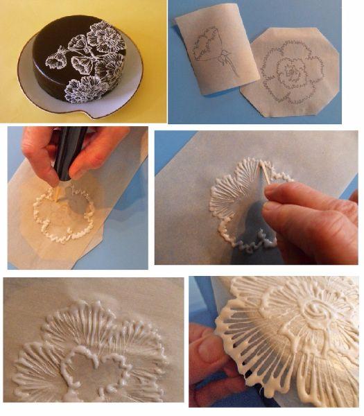7.Для изготовления рисунка можно использовать трафареты. Их можно нарисовать самостоятельно на пергаменте или распечатать из интернета.