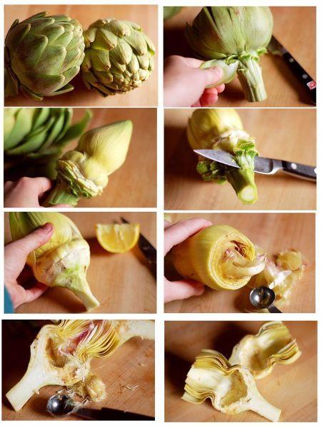 Техника нарезки овощей и фруктов