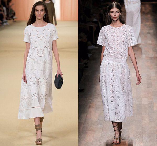 5. Маленькое белое платье. Маленького черного платья никто не отменял, но белое на загорелом теле смотрится, согласитесь, куда эффектнее. Дизайнеры предложили свои варианты на любой вкус.