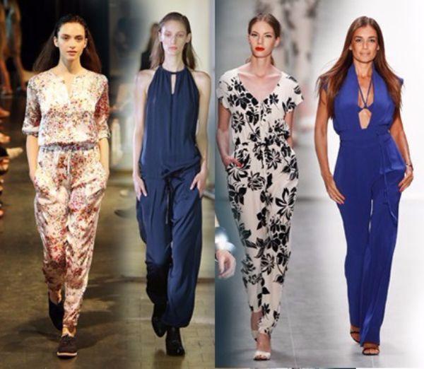 17. Комбинезоны. Тренд не новый, но летом 2015 года комбинезон становится фаворитом моды. Соединить штаны и рубашку друг с другом - это не только практично, но и очень удобно.