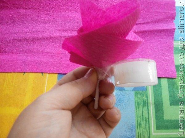 Букет из конфет на палочке