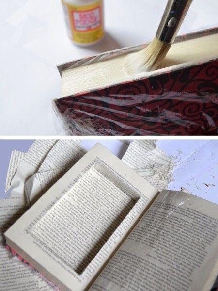 11. Секретная шкатулка. Это подарок для тех, кто любит собирать деньги или хранить драгоценности дома. Это не просто книга, а тайное место для самого важного. Вы также можете заполнить его конфетами, монетами или чем-нибудь еще.