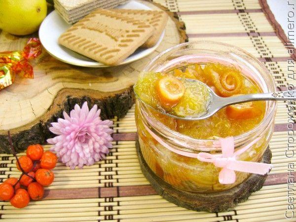 апельсиновое варенье с цедрой рецепт