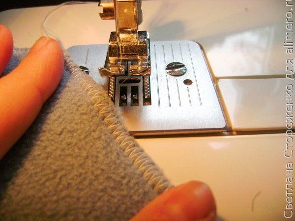 Как сшить шапку-носок своими руками