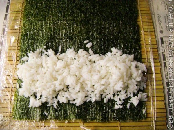 Роллы рецепт с соленой скумбрией