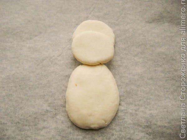 Обезьяна из соленого теста