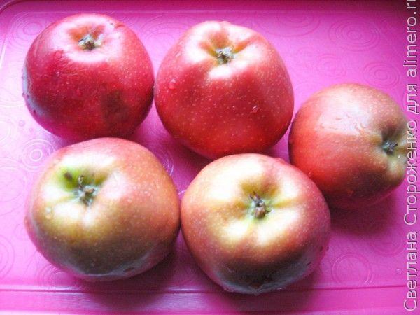 Крем-десерт из яблок «Нежность»