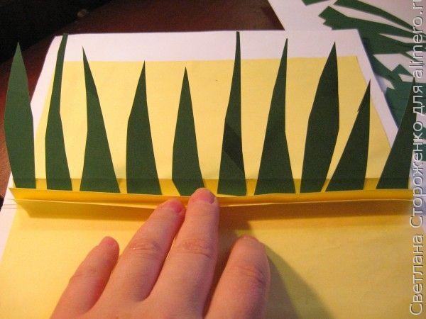 Объемная открытка своими руками