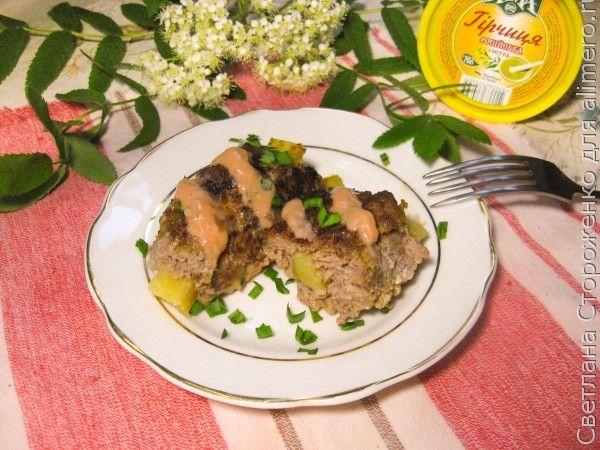 Мясные котлеты с картофельной начинкой